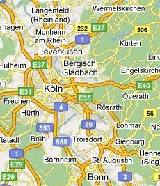 Bedsit room or single resdent occupancy in Köln Brück or Bergisch Gladbach in bed-sit, optimal for AXA, Colonia, Messe, KölnMesse, Bayer, Ford, RTL, SAT1, WDR